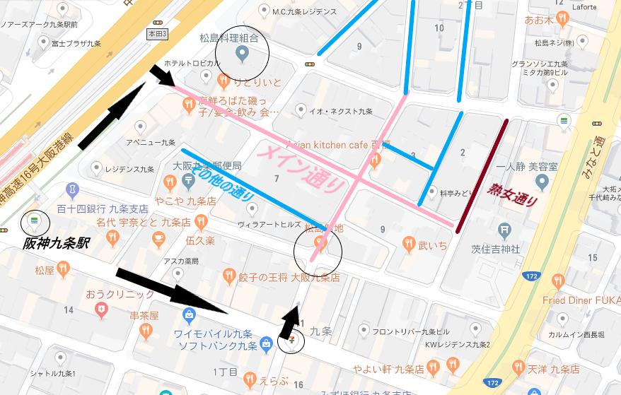 上記地図の構成でできております。